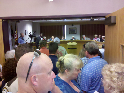 Estimated 200-250 Displeased Gun-Owners Attend Meeting