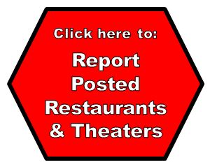 Report Posted Restaurants