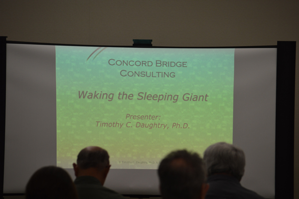 Waking the Sleeping Giant Workshop 2013